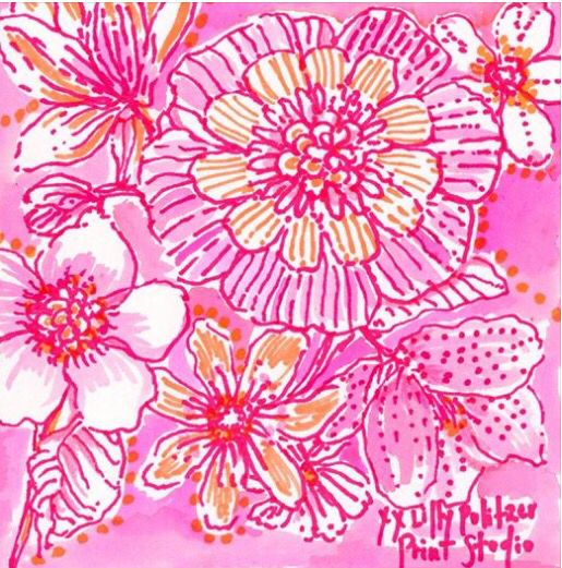 Pink polish, Lilly Pulitzer Lilly pulitzer prints, Lilly