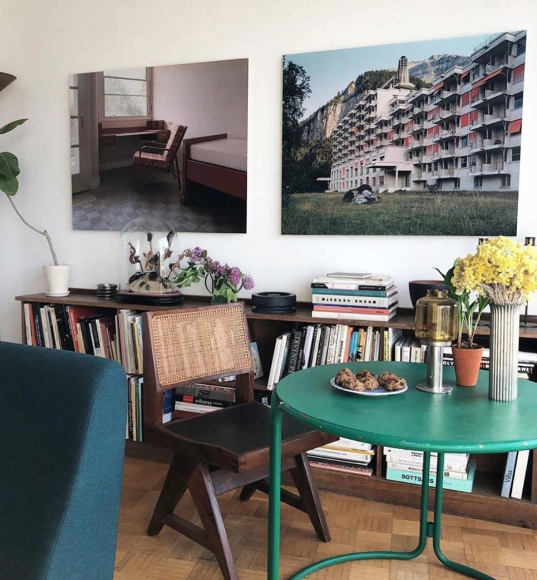 #interiors #interiordesign #design #home #paris #france @olivieramsellem #photographer #photography #prouve #jeanneret #perriand #lecorbusier #midcenturymodern #midcenturyfurniture #frenchmodernism #instadaily #inspiration