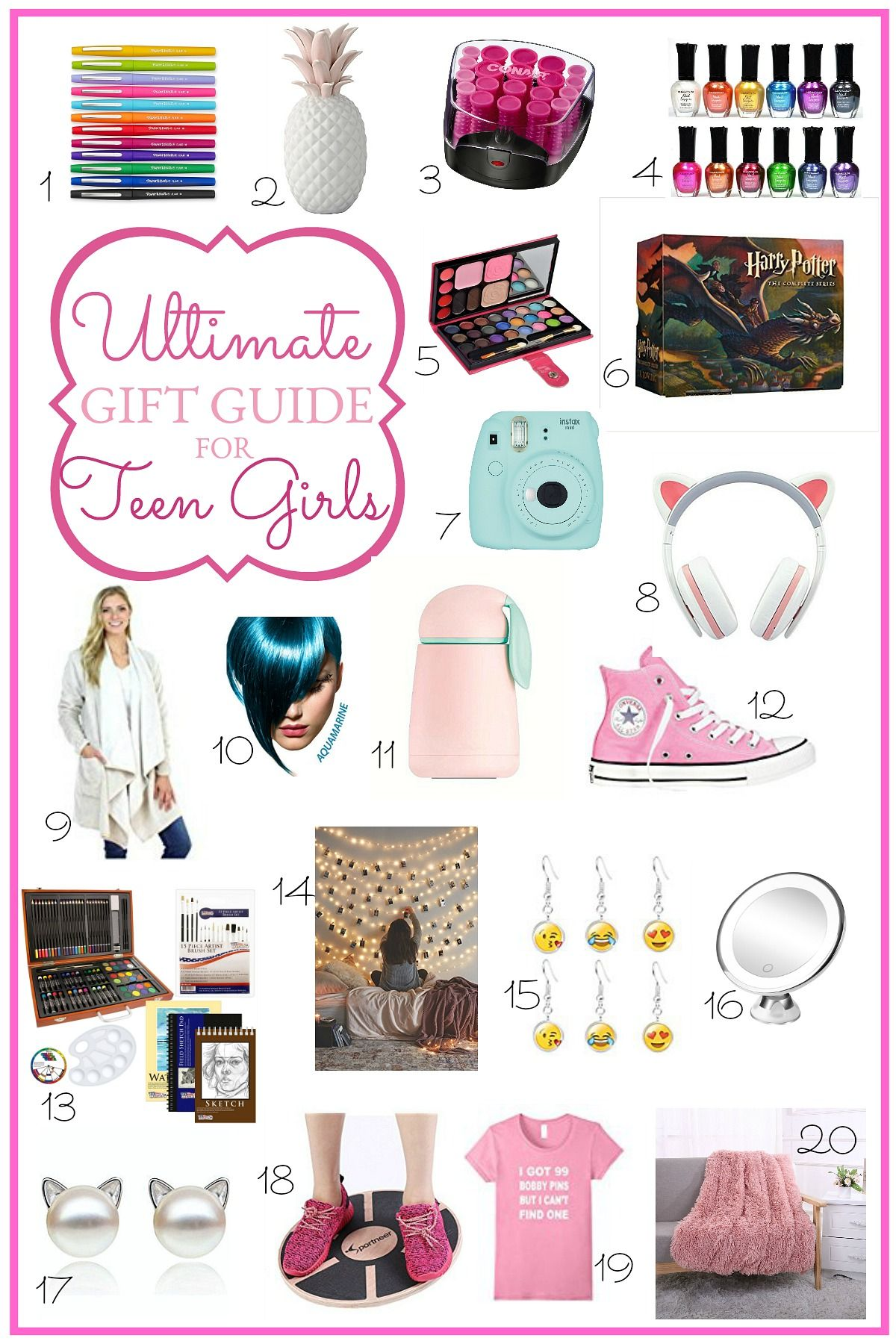 Ultimate Holiday Gift Guide for Teen Girls | GPTHeart Blog | Gifts ...