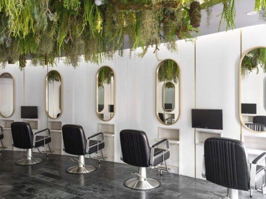 The Most Beautiful And Modern Hair Salon Decor Ideas And Hair Salon Designs Find Hairdressing Salon Pictures Of In 2020 Salon Decor Hair Salon Design Hair Salon Decor