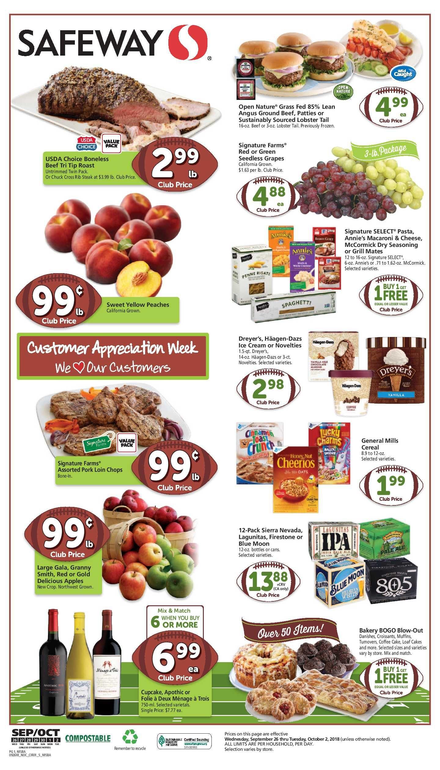 Safeway Weekly Ad Flyer 5 26 21 6 1 21 Weeklyad123 Com Weekly Ad Circular Grocery Stores Weekly Ads Safeway Grocery Savings
