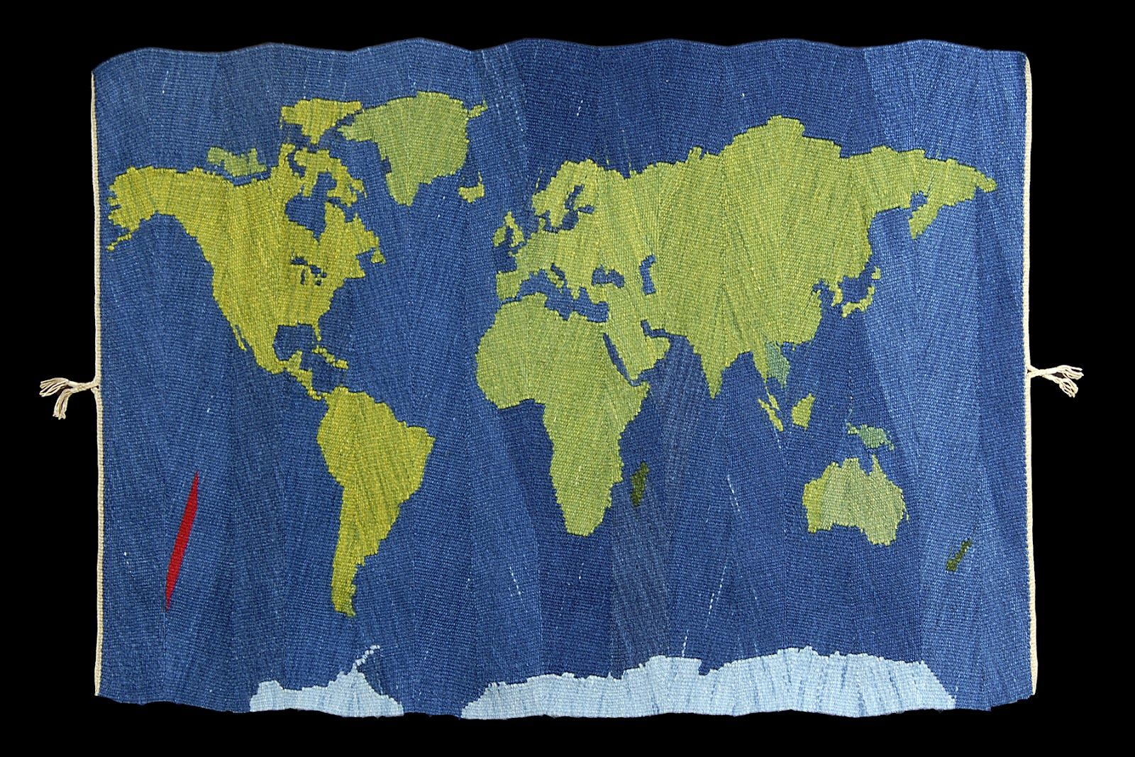 """Wedge Weave Tapestry: """"Paradise Lost,"""" Connie Rush Lippert"""