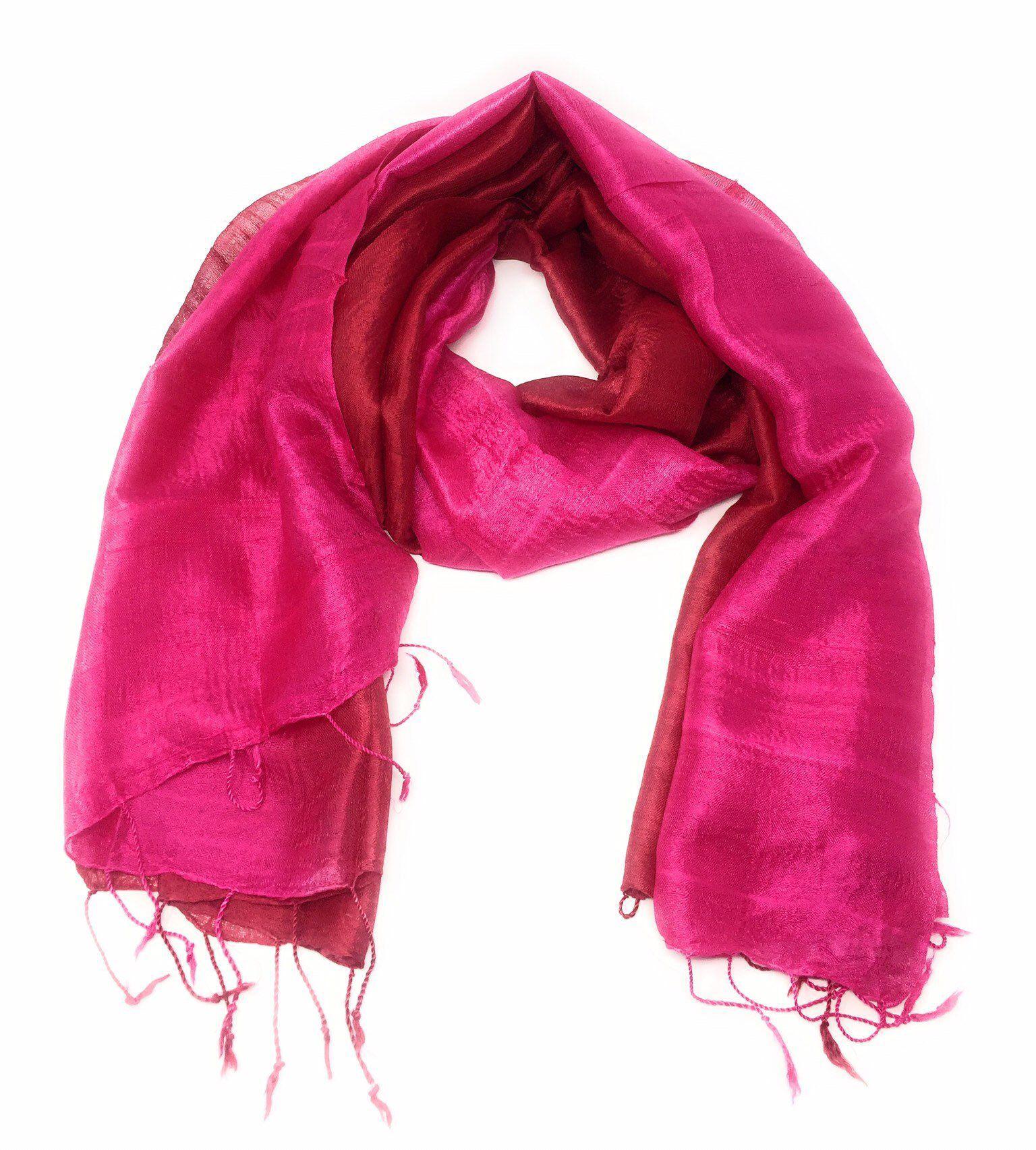47c7b377480 Silk-Raw Silk-Shawl-Scarf-Wrap-Hijab-Soft-delicate-gift-Pashmina ...