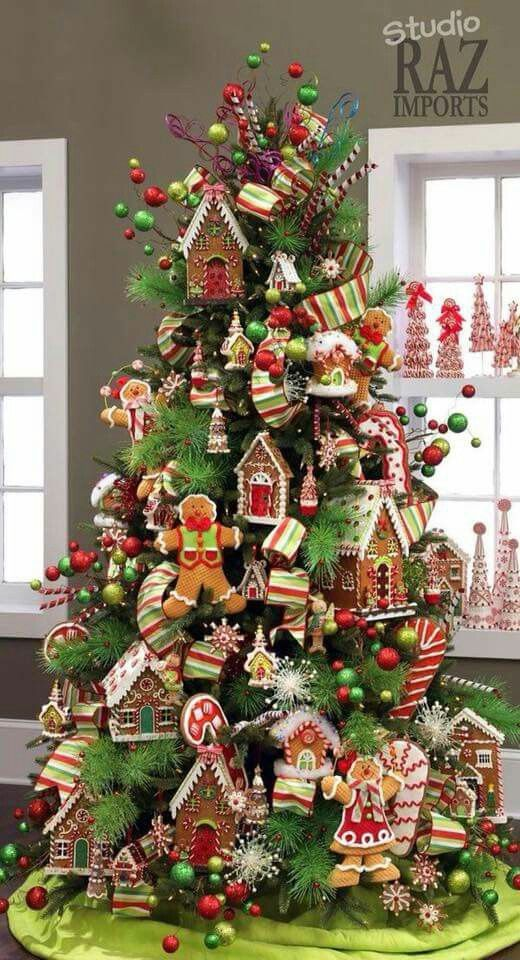 Gingerbread Christmas Tree Christmas Trees Wreaths Decor