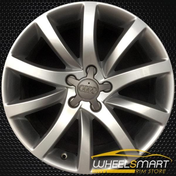 18 Audi A4 Rims For Sale 2013 2014 Silver Oem Wheel 58911 Rims For Sale Oem Wheels Wheels For Sale