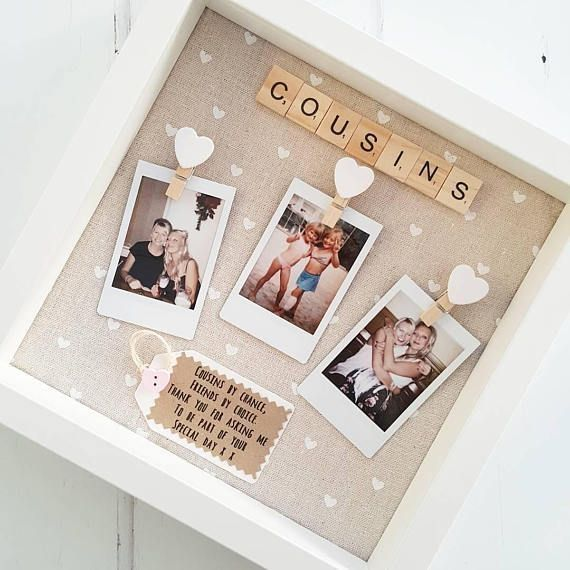 Friends Birthday Gift  Bridesmaid Frame  Scrabble Frame  Birthday Gift   Pauline Kusch  gifts gifts for best friends gifts for boyfriend gifts for girlfriend