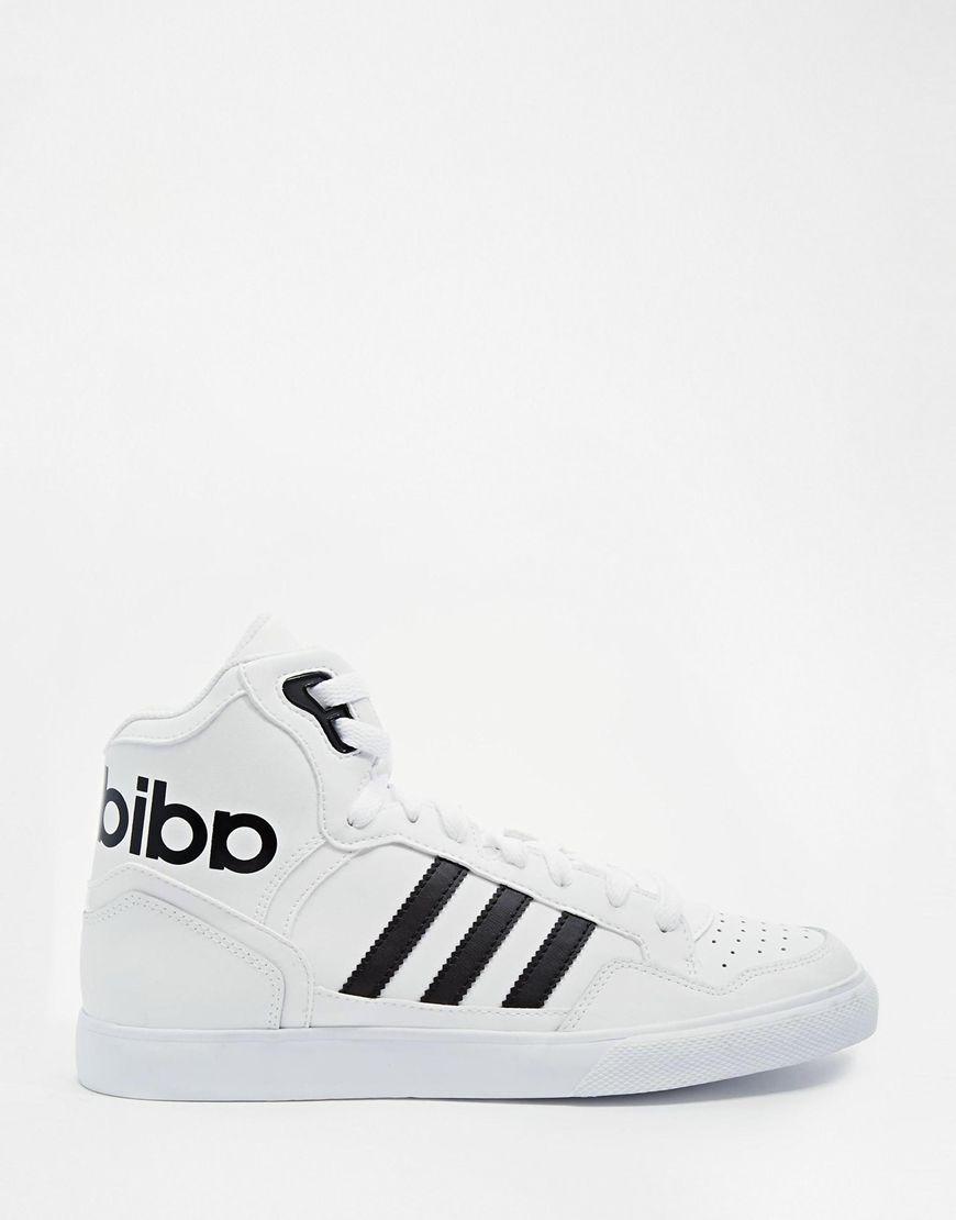 hot sale online 9ecd3 03e5e Image 1 - Adidas Originals - Extaball - Baskets montantes - Blanc