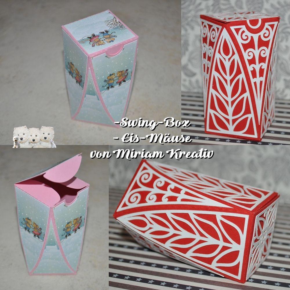 Plotterdatei Verpackung Swing Box Box Plotterdatei Und