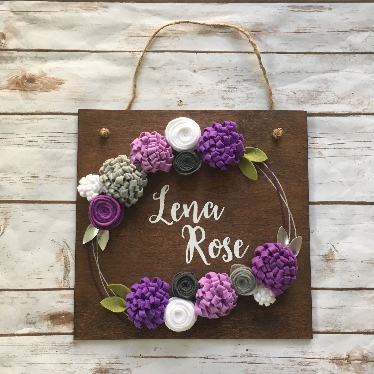 This personalized sign makes a thoughtful and unique bridal shower gift.