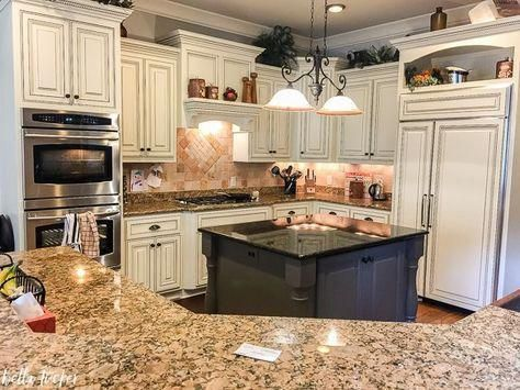 tuscan kitchen updated with sherwin williams creamy tuscankitchens rh pinterest com