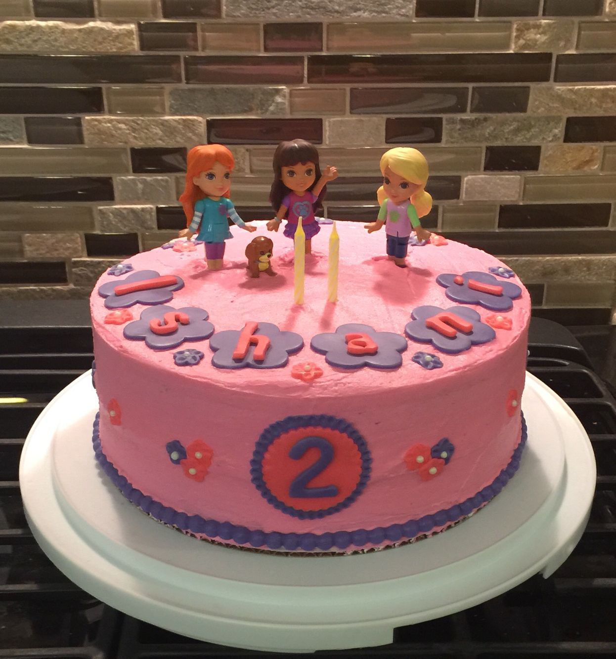 Dora In The City Cake With Images Friends Birthday Cake Dora