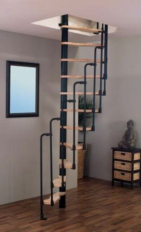 Best Suono Space Saver Spiral Staircases 140 X 75 Escaleras 400 x 300