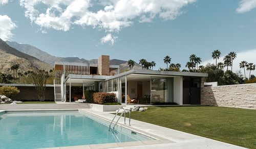 Richard Neutra. Kaufmann House. Palm Springs. 1946.