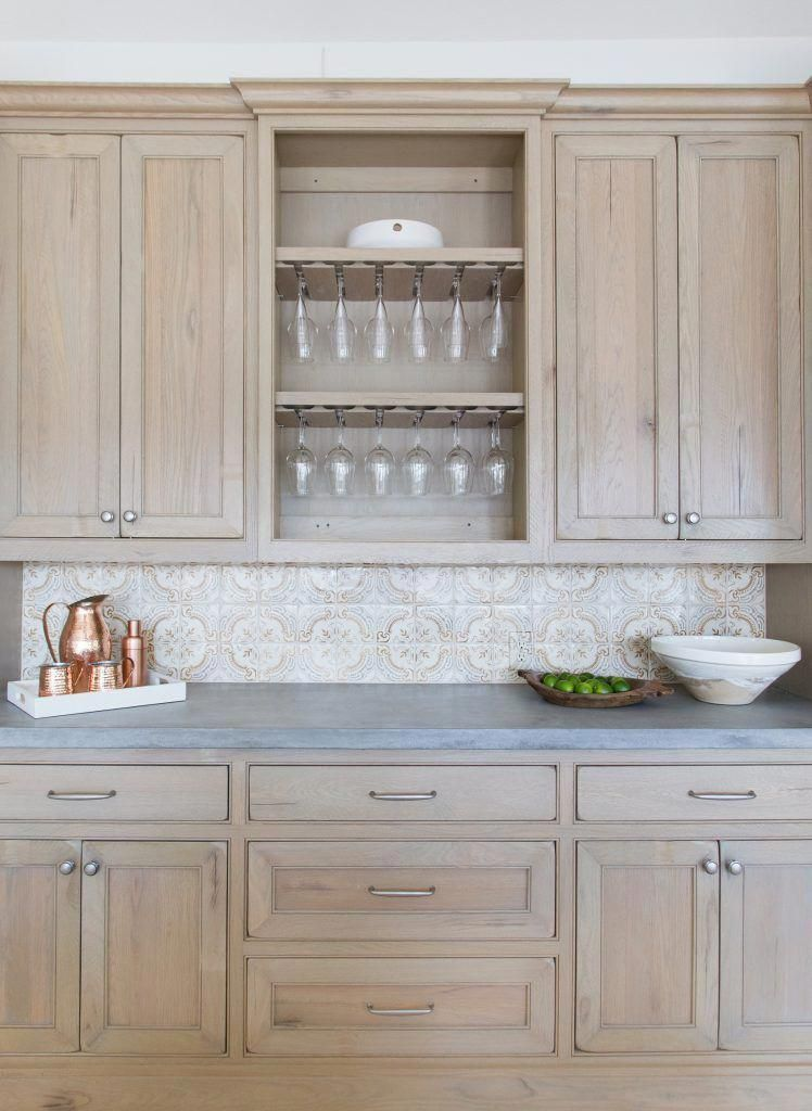 Marie Flanigan Interiors Summer Entertaining Perfecting Your Patio Style Summer Kitchen Stained Kitchen Cabinets Kitchen Cabinets Wood Kitchen Cabinets