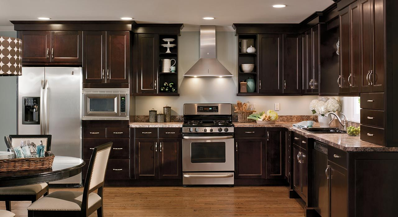 Home Kitchen Design Studio Saratoga Albany Schenectady Ny Dark Wood Kitchen Cabinets Cherry Cabinets Kitchen Dark Kitchen Cabinets