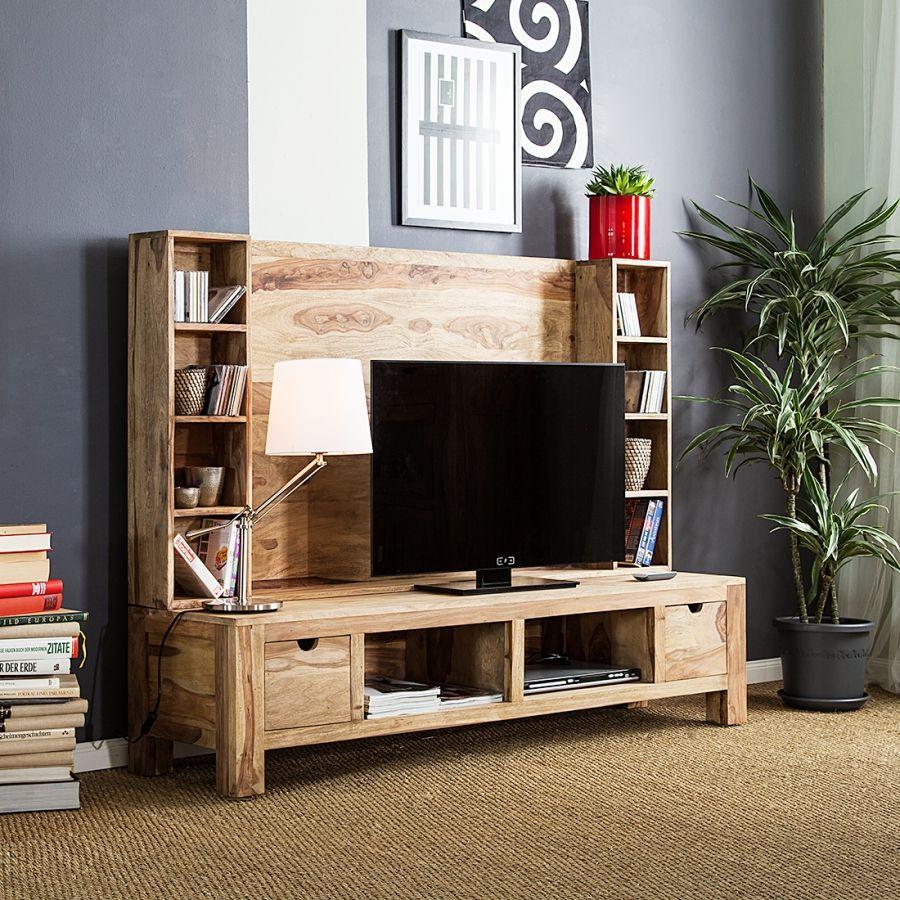 mobile da parete porta tv yoga palissandro indiano. Black Bedroom Furniture Sets. Home Design Ideas