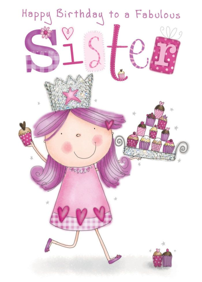 Hbd – Happy Birthday Cards for Sister