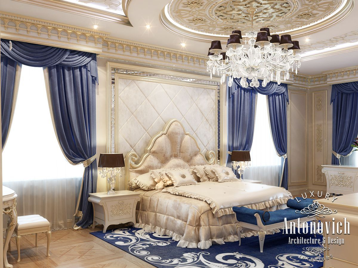 Beautiful dressing room design in dubai by luxury antonovich design - Bedroom Design In Dubai Master Bedroom Interior Uae Photo 1