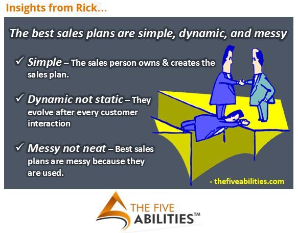 Do not let your sales plan make selling more complicated than it - best sales plan