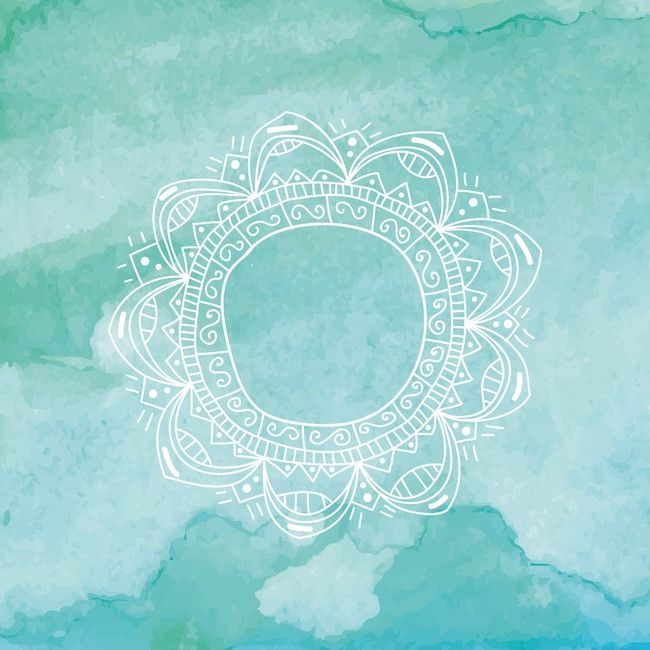 Yoga Watercolor Poster Background Yoga Background Turquoise Watercolor Watercolor
