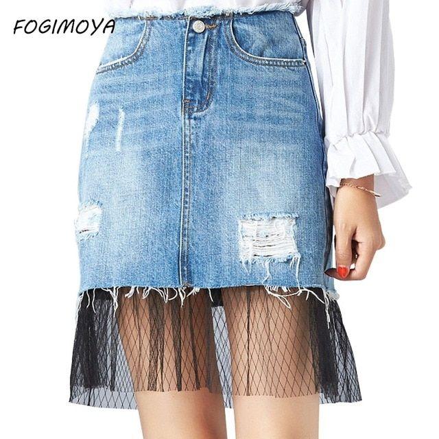 87244e0d54 Como Hacer Faldas con Jeans Viejos - Escuela de costuras