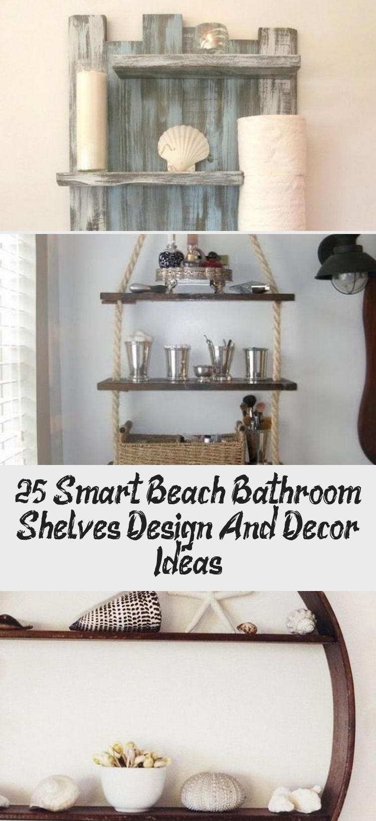 25+ Smart Beach Bathroom Shelves Design And Decor Ideas – Decor Bathroom
