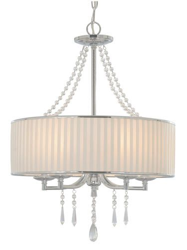Manhattan 5 Light 28 H Chrome Crystal Chandelier At Menards Girly Office Idea
