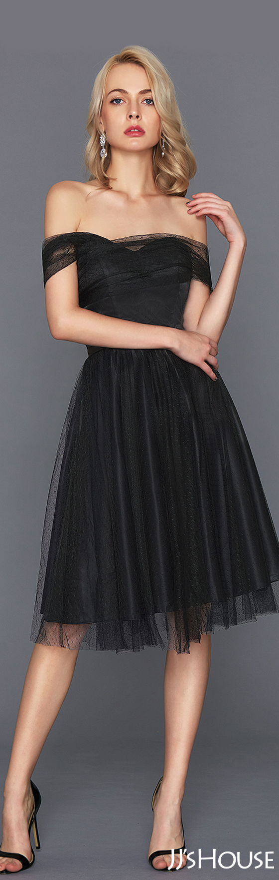 The timeless little black cocktail dress will never be outdated