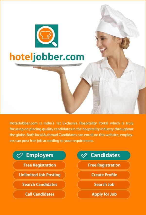 Urjent Job Opening In Hotels Restaurants For The Given Profiles