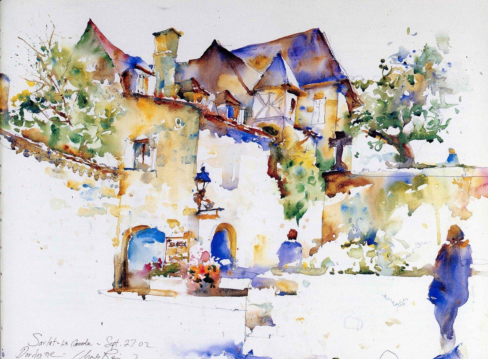 Watercolor books for sale - Charles Reid Watercolor