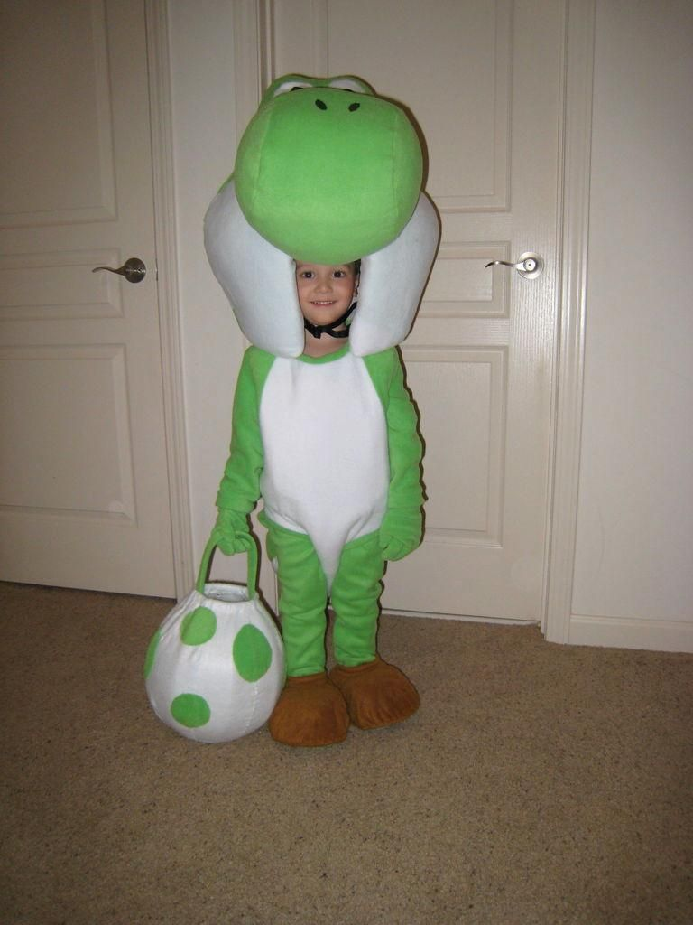 DIY Animal Costume : DIY Yoshi Mascot and Baby Mario Costumes for ...