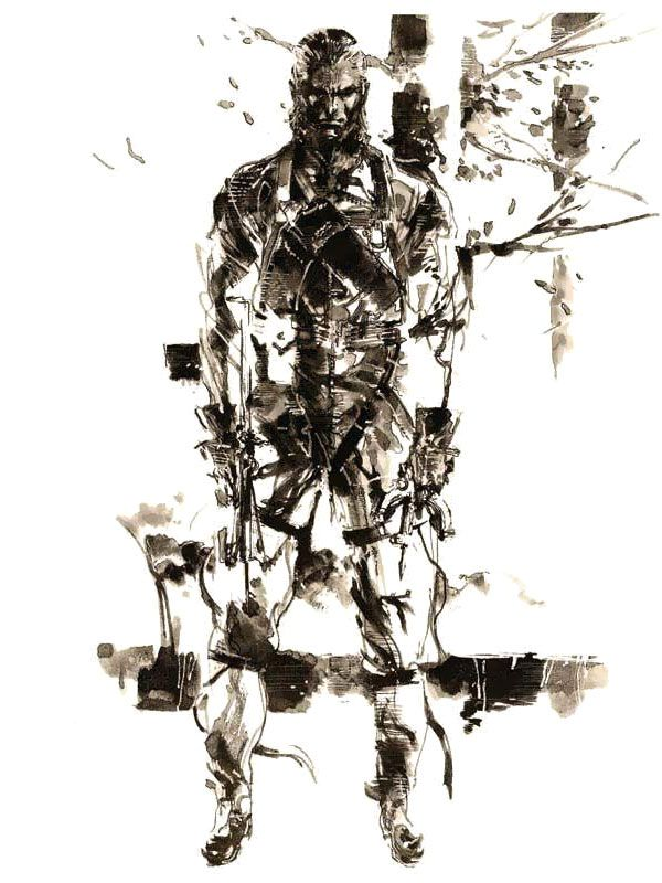 The Fear Pictures Characters Art Metal Gear Solid 3