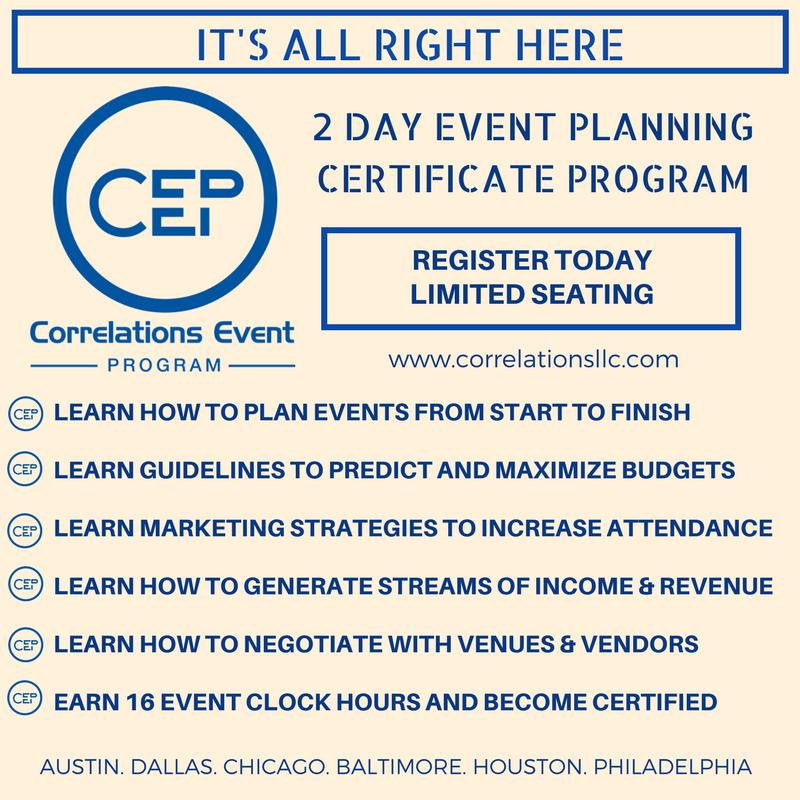 Class Details Correlations Llc Event Management Pinterest
