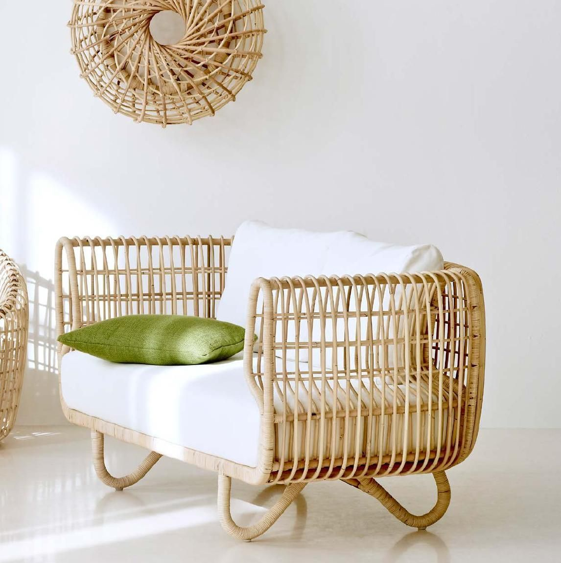 Rattan sofa & chair @Candace Renee Young-line #thingsmatter | Coast ...
