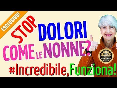 STOP ai DOLORI con 2 RIMEDI NATURALI della NONNA INSOLITI..
