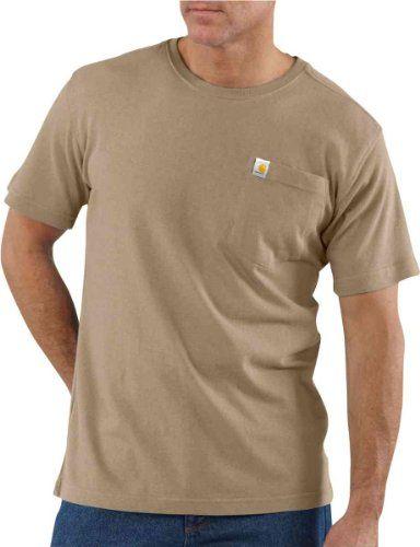 0a88de9816a4 Carhartt Men s Short Sleeve Pocket T-Shirt Lightweight
