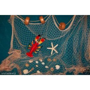 10 X 8 Ft New Decorative Fish Net Fishing Net Seashells Lobster Rope Floats For Nautical Decor Display Decor Display Nautical Classroom Nautical Decor