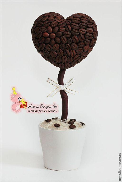 кофейное дерево топиарий фото