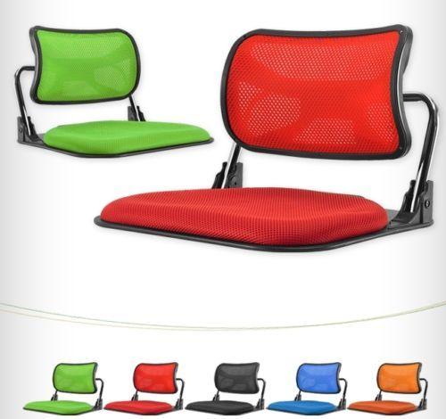 Comfortable Legless Folding Chair Floor Chair Compact Seat Folding Tatami