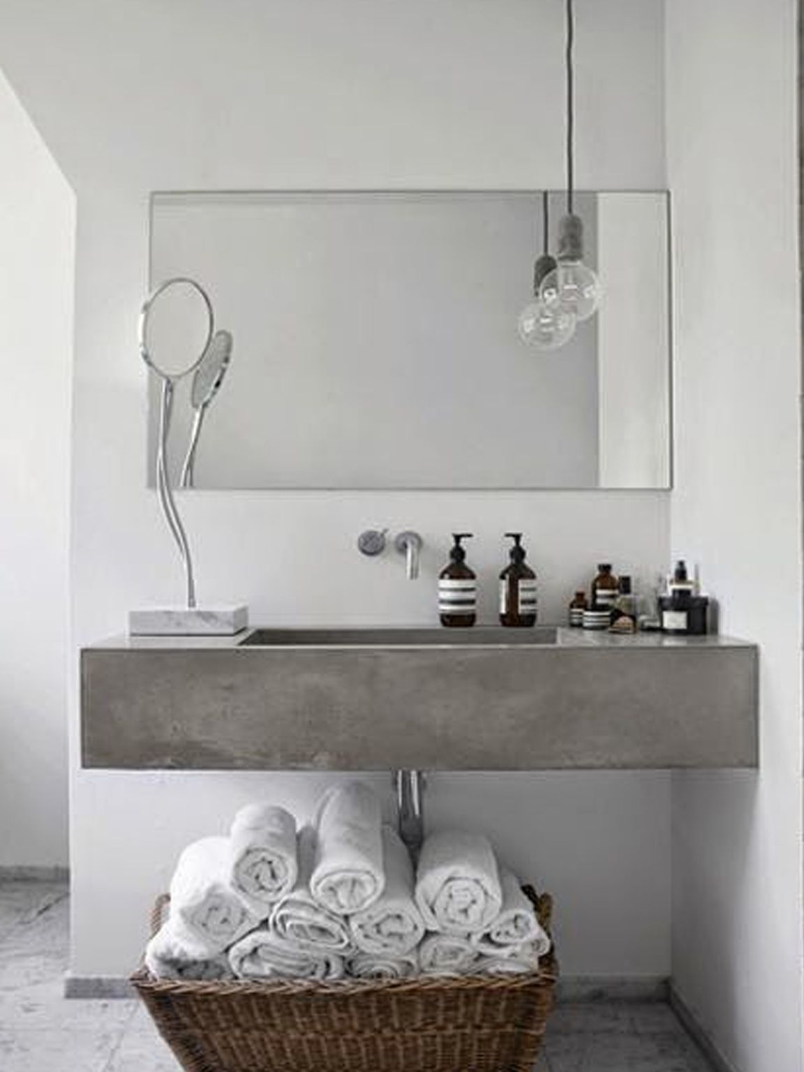 mobile lavabo in cemento | SdA_Blog | Concrete Lovers | Pinterest ...