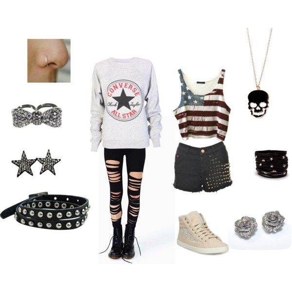 """""""My style"""" by taylor-bvb on Polyvore emo clothes"""