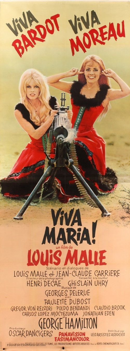 ''Viva María!'' 1965 French movie poster. (2). French