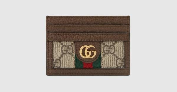 6a046dfd593 Ophidia GG card case - Gucci Women s Wallets   Small Accessories  52315996IWG8745