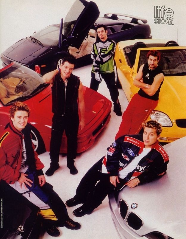 For Some Reason They Were All Really Bad At Parking Boy Bands