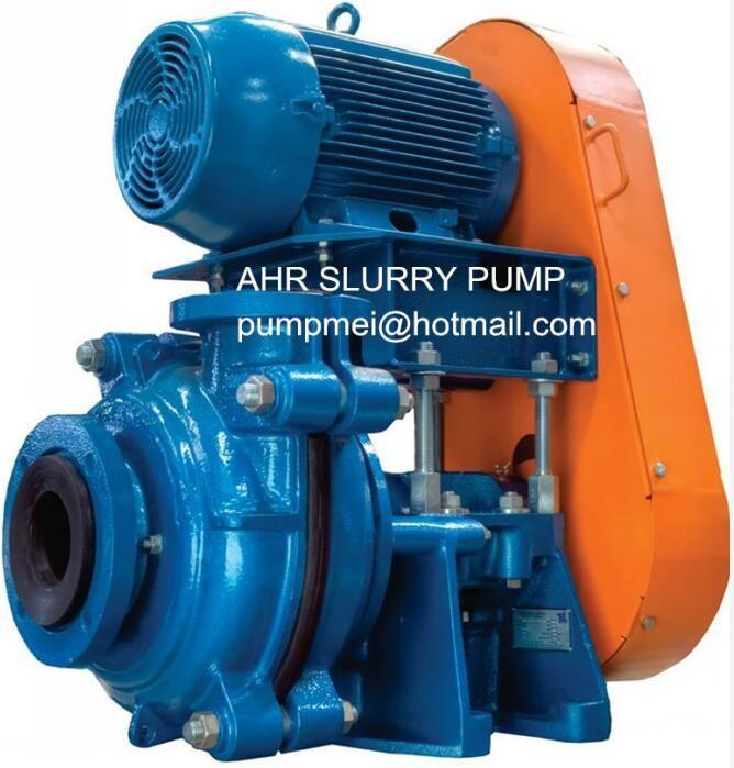 Rubber Lining Heavy Duty Slurry Pump For Mining Tech Macro Slurry Pump Outdoor Power Equipment Pumps Outdoor