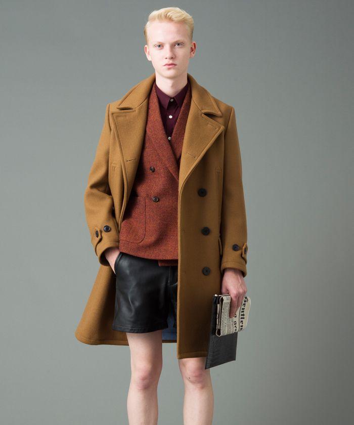 TWEED DOUBLE JACKET-MR.GENTLEMAN(ミスター・ジェントルマン) | 全品送料無料 | レディース・メンズ ファッション通販 MAGASEEK