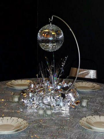 Disco Ball Decoration Beauteous Pavi  A Different Idea  How About This Stand With A Flower Ball Decorating Design