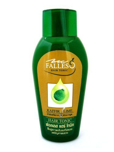 BSC Falles Hair Tonic Stop & Prevent Hair Loss Weakened Fall Falling Bald 90 Ml Made in Thailand by BSC. $21.61. Product Type: Hair tonic  Brand: Falles  Manufactured by: Lion (Thailand) Ltd.  Product features: BSC FALLES Kaffir Lime Hair Tonic is popular for its effective response to people suffering from hair loss problem. The extract of Kaffir Lime is rich of Citronella which helps increase the circulation of the blood and strengthen the root of hair. Moreover, it also prov...