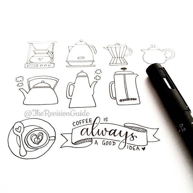 Doodles for coffee #TRG_RandomDoodle #☕ #coffee #coffeeart…