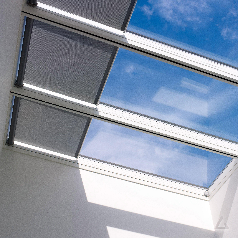 Velux Oberlicht System Hvc 080120 Sl0039t 1 Mal Elektro Und 1 Mal Festverglast 2 Fach Verglast Lichtband 5 Gunstig Kaufen Be In 2020 Oberlicht Lichtband Dachfenster